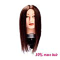 CORRINE MANNEQUIN HEAD - BROWN - MEDIUM - CHINESE