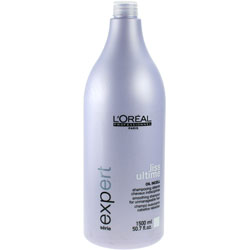 LOREAL | LISS ULTIME | OIL INCELL | SMOOTHING SHAMPOO FOR UNMANAGEABLE HAIR | 1500ML