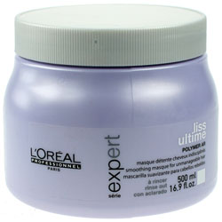 LOREAL | LISS ULTIME | POLYMER  AR | SMOOTHING MASQUE FOR UNMANAGEABLE HAIR | 500ML