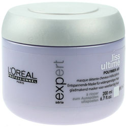 LOREAL | LISS ULTIME | POLYMER  AR | SMOOTHING MASQUE FOR UNMANAGEABLE HAIR | 200ML