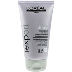 LOREAL | LISS ULTIME | POLYMER AR | SMOOTHING TREATMENT FOR UNMANAGEABLE HAIR | 150ML