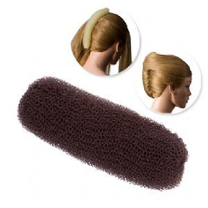 DRESS ME UP | HAIR SAUSAGE, BROWN, SMALL, 12CM