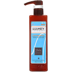 SARYNA KEY | AFRICAN SHEA BUTTER | CURL CONTROL LEAVE-IN MOISTURISER | 500ML