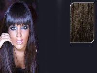 E-CLIPS TAPE HAIR EXTENSIONS #1B 50CM 1 PIECES