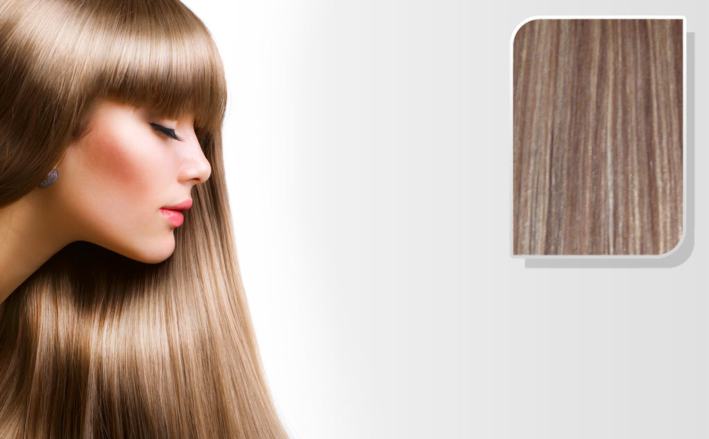 E-CLIPS TAPE HAIR EXTENSIONS #6/22 50CM 1 PIECES