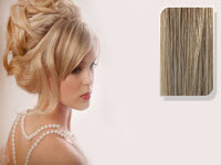 E-CLIPS TAPE HAIR EXTENSIONS #613/18 50CM 1 PIECES