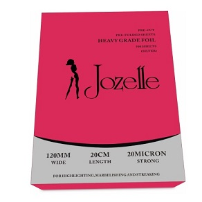 JOZELLE PROFESSIONAL ALUMINIUM  FOIL 120MM WIDE 20CM LENGTH 500 SHEETS