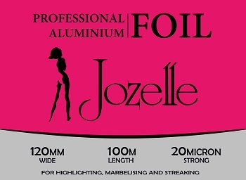 JOZELLE PROFESSIONAL ALUMINIUM  FOIL 120MM WIDE 100M LENGTH
