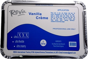 REVA VANILLA  CREAM HOT/HARD WAX 1L