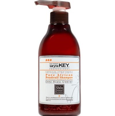 SARYNA KEY | PURE AFRICAN DANDRUFF SHAMPOO | DEEP SCALP CLEANER 500ML