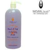 NATURAL LOOK MANICURE HAND & NAIL SOFTENING SOAK - 1L