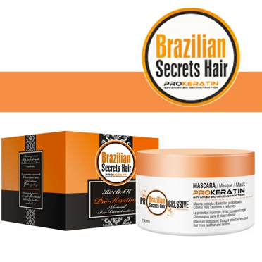 Brazilian Secrets Hair Pro-Keratin Mask 250G