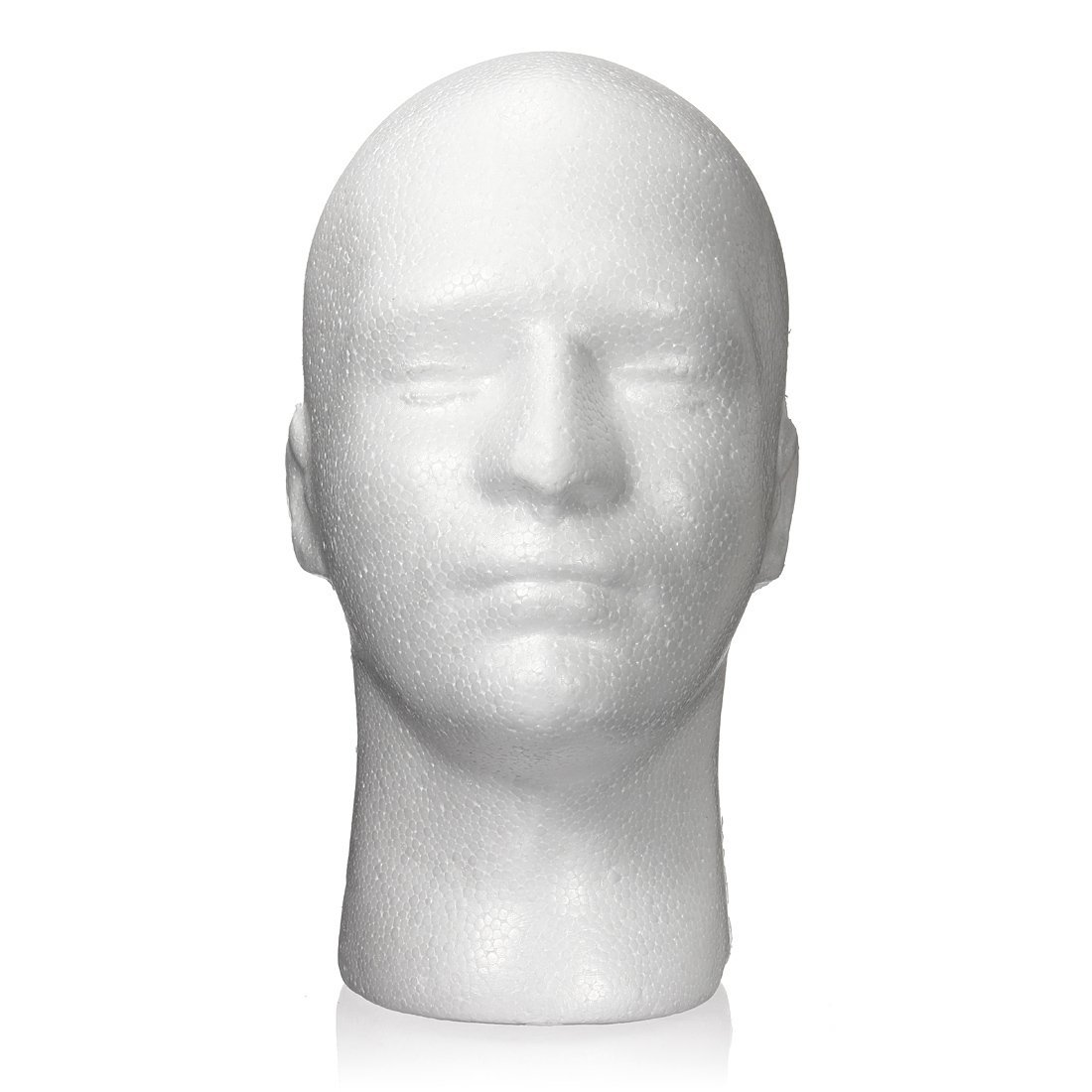 Mannequin Male Styrofoam Head Display