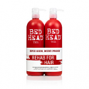 BED HEAD RESURRECTION SHAMPOO & CONDITIONER DUO PACK 750ML