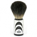 OMEGA SHAVING BRUSH MACH3 HANDLE 100% PURE BADGER BRISTLES