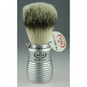 OMEGA SHAVING HI BRUSH SILVER HANDLE