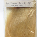JOZELLE TAPE HAIR EXTENSIONS #613 REMY EUROPEAN