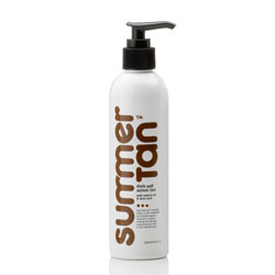 MANCINE TAN/ SUMMER TAN DARK SELF ACTION TAN WITH WALNUT OIL & ALOE VERA 250ML
