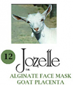 12.JOZELLE ALGINATE FACE PACK 250G /GOAT PLACENTA-ANTI-AGEING,REDUCES WRINKLES
