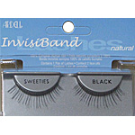 ADRELL INVISIBAND SWEETIES BLACK FALSE EYELASHES