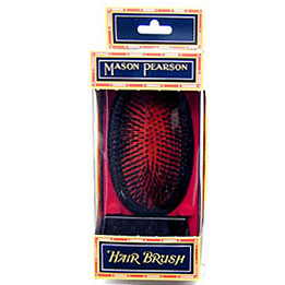 MASON PEARSON EXTRA SMALL PURE BRISTLE  MILITARY SHAPE B2M