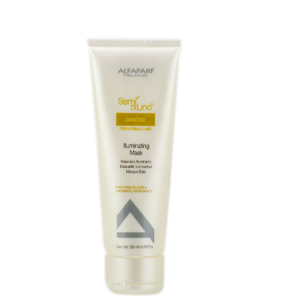 ALFAPARF SEMIDILINO ILLUMINATING MASK 200ML