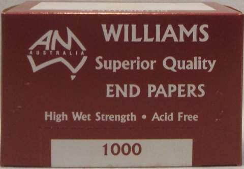 SUPERIOR QUALITY END PAPERS