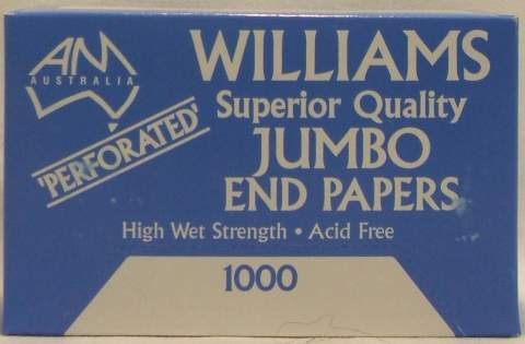SUPERIOR QUALITY JUMBO END PAPERS
