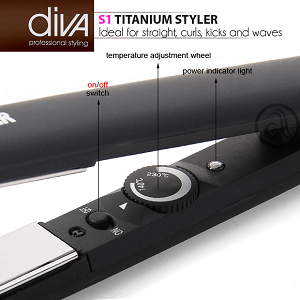 ELECTRIC STRAIGHTENERS DIVA
