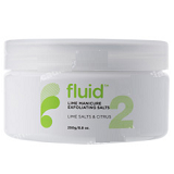 NO.2 MANCINE MANICURE FLUID LIME  EXFOLIATING SALTS - 250G