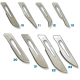 SUNDRIES SCALPEL BLADES AND HANDLES