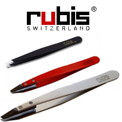 SUNDRIES TWEEZERS RUBIS